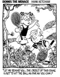 Dennis the Menace youth tennis